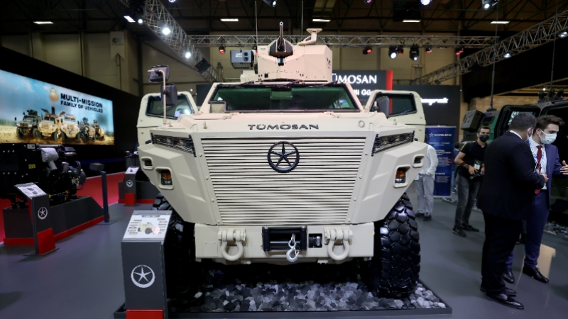 Türkiye'nin yeni zırhlısı Pusat göreve talip