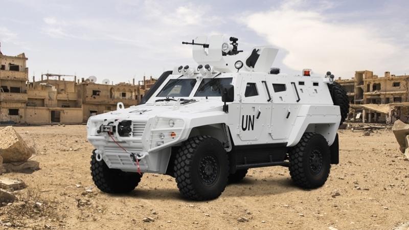 Türkiye'de üretilen zırhlı araçlar yeni görevler için hazır