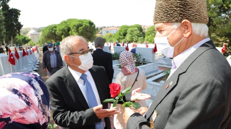 Gelibolu'da 19 Eylül Gaziler Günü kutlandı