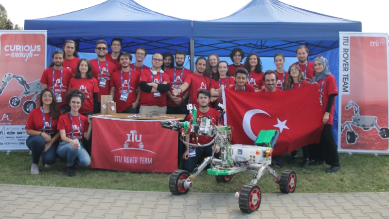 İTÜ Rover Takımı, Avrupa'nın en büyük uzay ve robotik yarışmasından 2 ödül kazandı