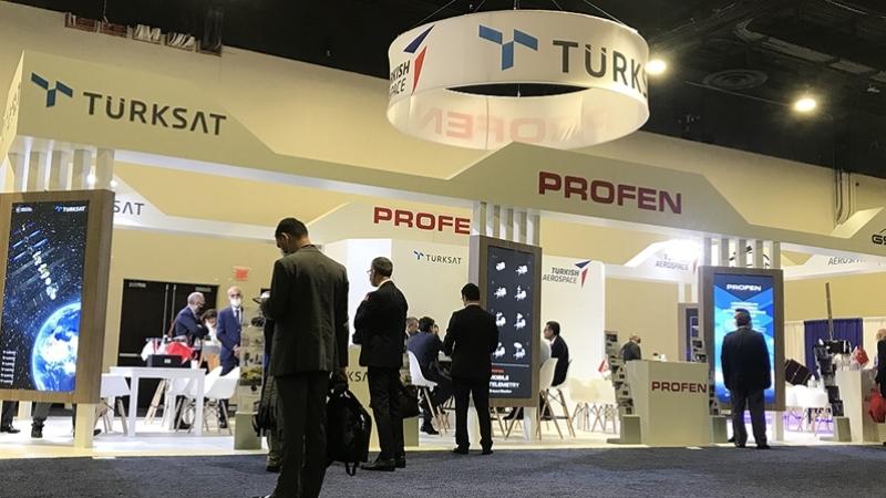 Türk firmaları dünyanın en büyük uydu fuarında boy gösterdi