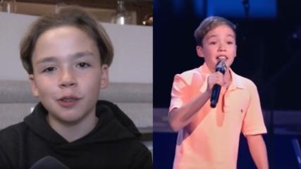 Müzik yarışmasına damga vuran 12 yaşındaki Kaya Sunel, sesiyle Almanları büyüledi