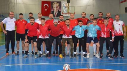 Futsalda milli takımın hedefi dünya şampiyonluğu