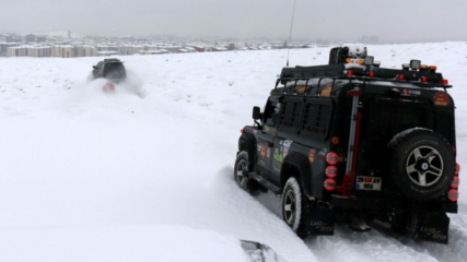 Off-road yarışçılarının kalbi kayağın merkezinde atacak