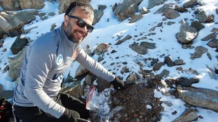 Antarktika'dan 10 bini aşkın mikrometeoritle döndü