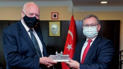 Bulgaristan Kültür Bakanı Minekov, 4 yıl akademisyenlik yaptığı Trakya Üniversitesini ziyaret etti