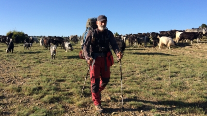 Yörüklerle 26 gün yürüyerek göç yolunu kaydetti