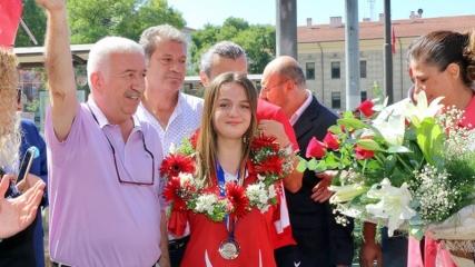 Sümeyye'nin yeni hedefi Paralimpik Oyunlar'da altın madalya