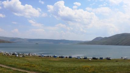 Şehrin gürültüsünden uzaklaşmak isteyenlerin gözde mekanı: Balık Gölü