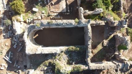 Alanya'daki 'Syedra Antik Kenti' gün yüzüne çıkarılıyor