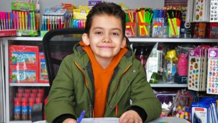 10 yaşındaki Ömer Faruk, matematikte Türkiye birincisi oldu
