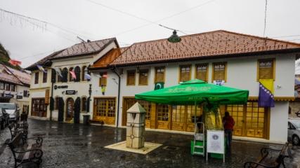 Bosna Hersek'te Vakıflar Genel Müdürlüğünce onarılan tarihi kahve açıldı