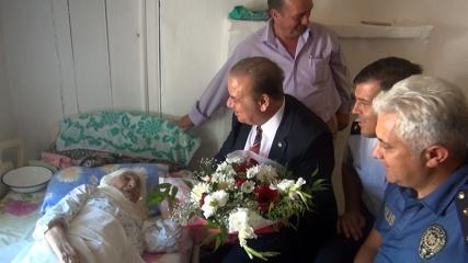 Türkiye'nin en yaşlısı Ayşe Uçar tarihe tanıklık etti