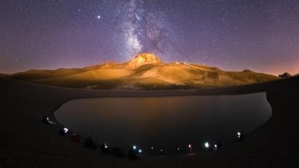 Gökyüzü meraklıları Erciyes'te buluşuyor