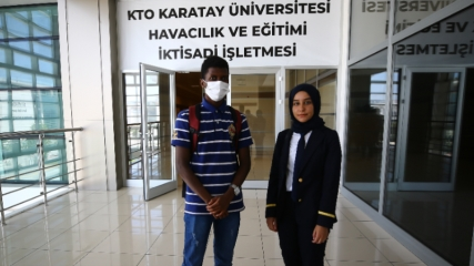 Pilot olma hayallerini gerçekleştirmek için Türkiye'yi seçtiler