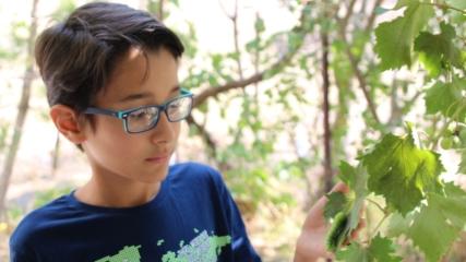 Videoları ilgi gören çocuğun hedefi, belgesel programları yapmak