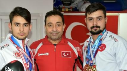 Şampiyon babanın şampiyon evlatları