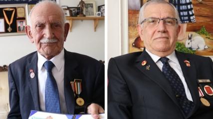 Türkiye'nin kahraman gazileri madalyalarını ilk günkü duyguyla taşıyor