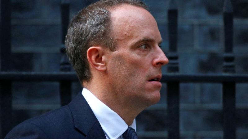 Brexit anlaşmasının ardından istifa eden Brexit Bakanı Dominic Raab