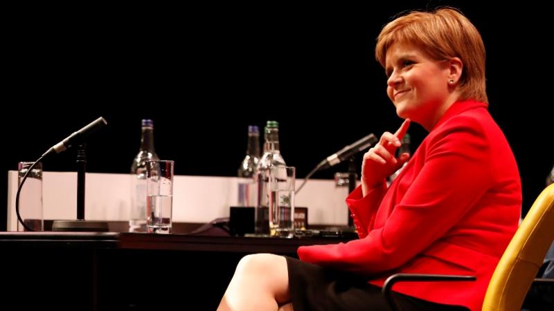İskoçya Bölgesel Yönetimi Başbakanı Nicola Sturgeon