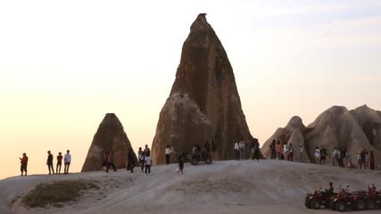 Kapadokya'ya sonbaharda yoğun turist ilgisi