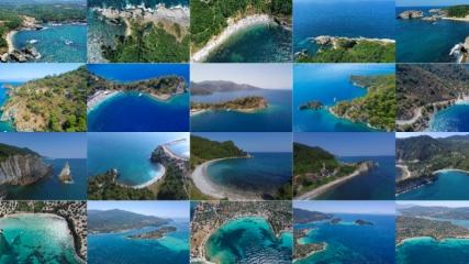 Maviyle yeşilin buluştuğu Türkiye'nin cennet koyları