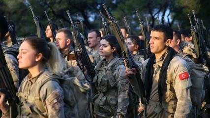 Türkiye'nin 'kadın komandoları' Foça'da yetiştiriliyor