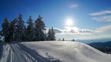 Murat Dağı manzarasıyla büyülüyor