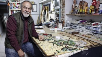 İstanbul'u dünyaya mozaikle tanıtacak