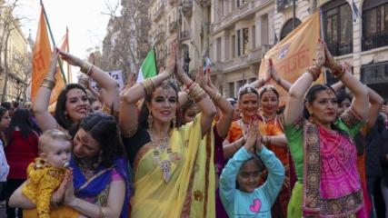 Arjantin'de göçmenler günü festivali kutlanıyor