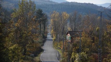 Küre Dağları Milli Parkı'nda sonbahar