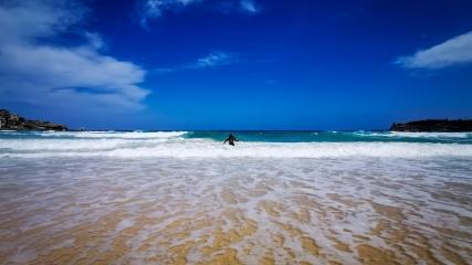 Turistlerin uğrak noktası: Bondi Plajı