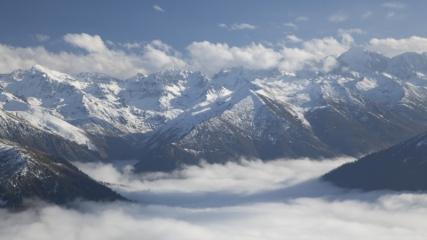 Kaçkar Dağları'nda kış