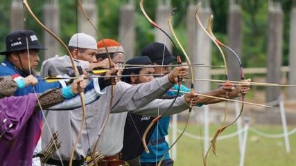 Endonezya'da geleneksel Türk okçuluğuna yoğun ilgi