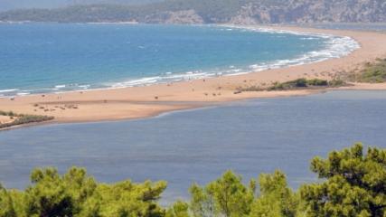 İztuzu Plajı dünyanın