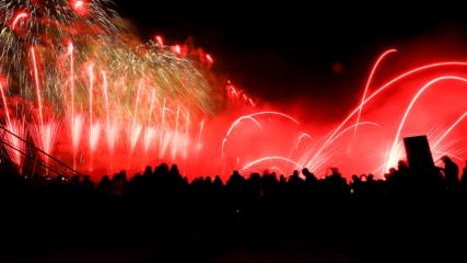 Moskova'da Işık Çemberi Festivali başladı