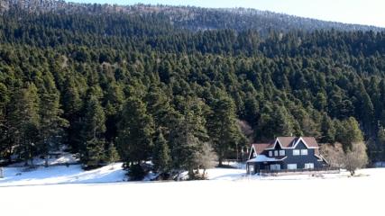 Gölcük ve Abant'ta kar güzelliği