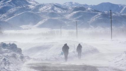 Tunceli Ovacık'ta kış çetin geçiyor
