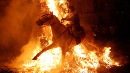 İspanya'da 300 yıldır devam eden gelenek
